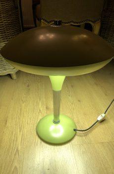 Vintage lamp olijfgroen