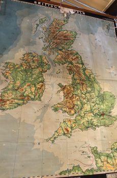 Grote schoolkaart UK