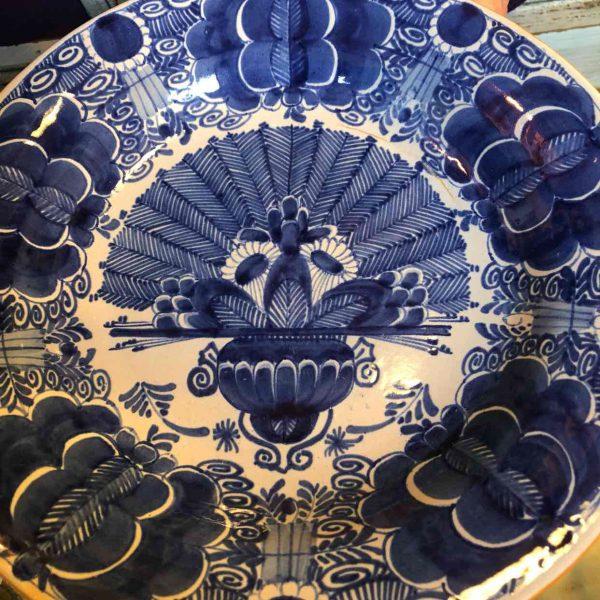 De Klaauw aardewerk bord 18de eeuw 1