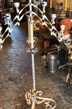 Brocante kaarsenkandelaar voor 7 kaarsen 1
